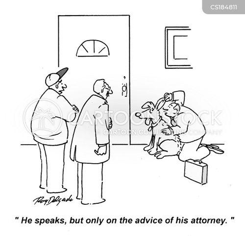 speaks cartoon