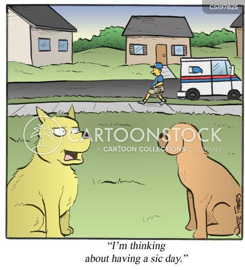 postage cartoon