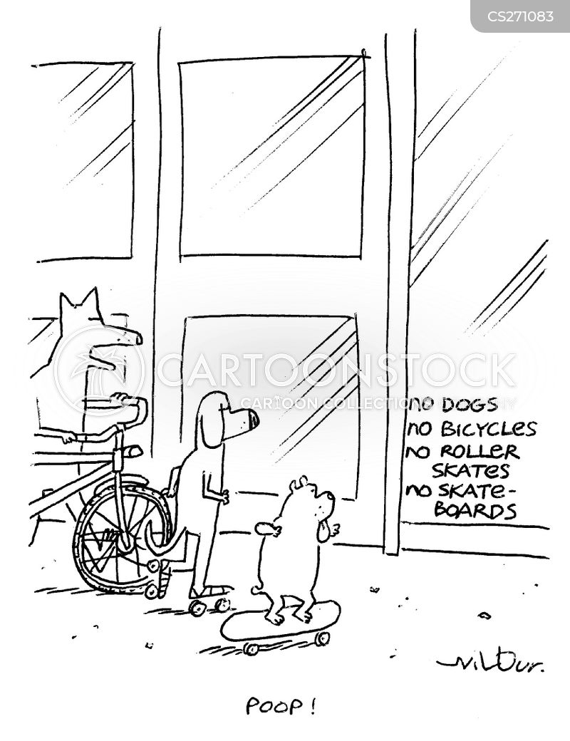 roller-skates cartoon