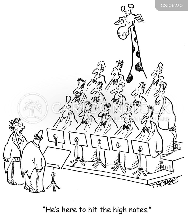 choirs cartoon