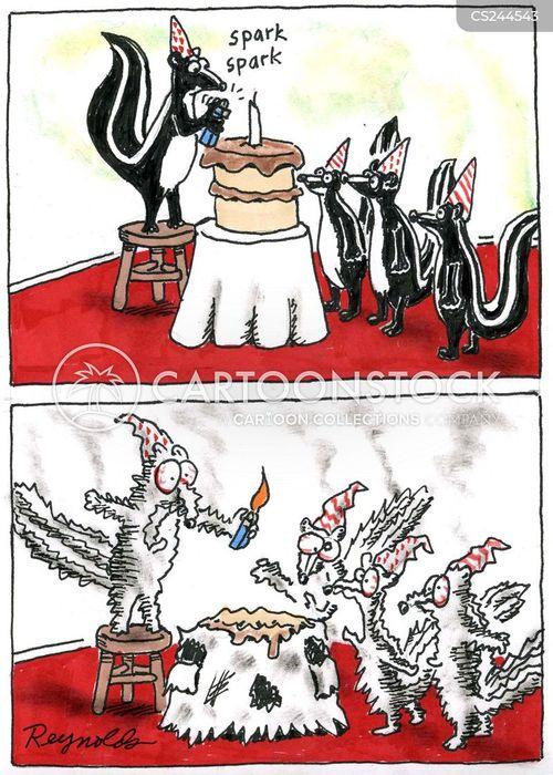 charred cartoon