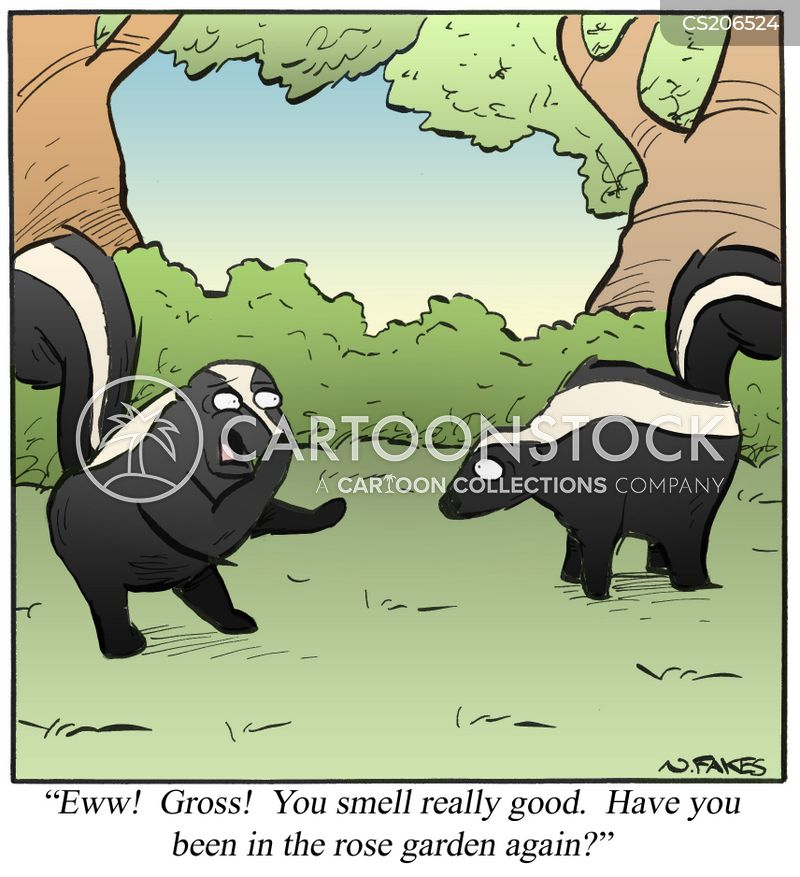 bad odor cartoon