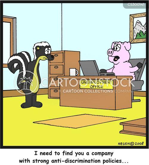 anti-discrimination cartoon