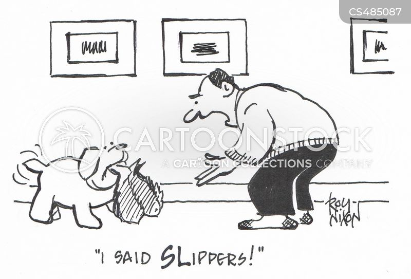 puppy trainers cartoon