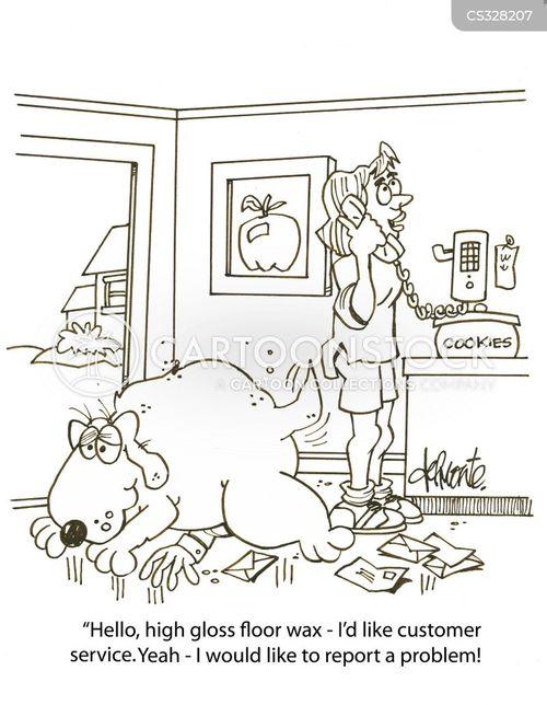 waxes cartoon