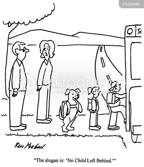 no child left behind cartoon