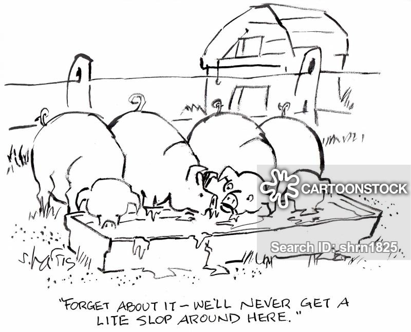 pigsties cartoon