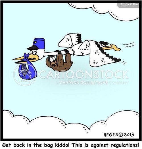 sticklers cartoon