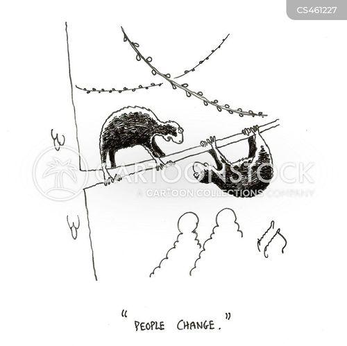 arboreal mammals cartoon