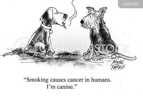smoking habits cartoon