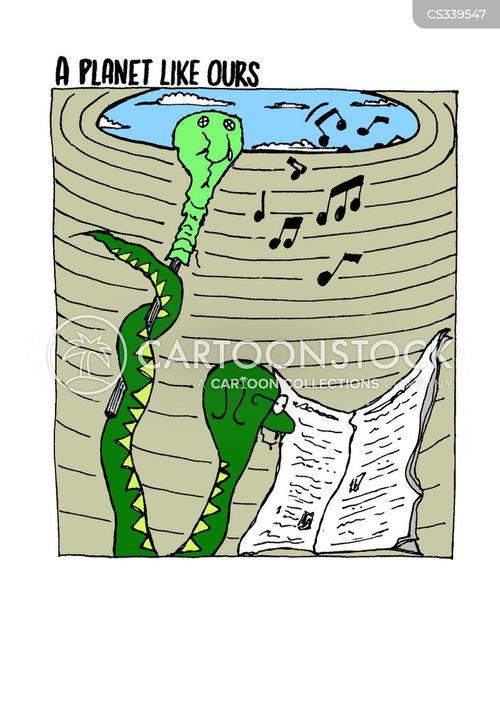 snake charm cartoon
