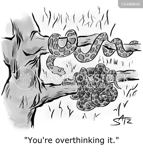 knotting cartoon