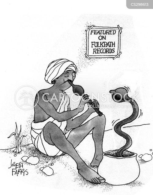 record deal cartoon