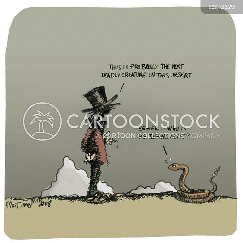 poisonous snakes cartoon