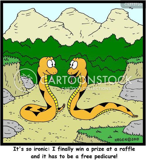 raffle cartoon