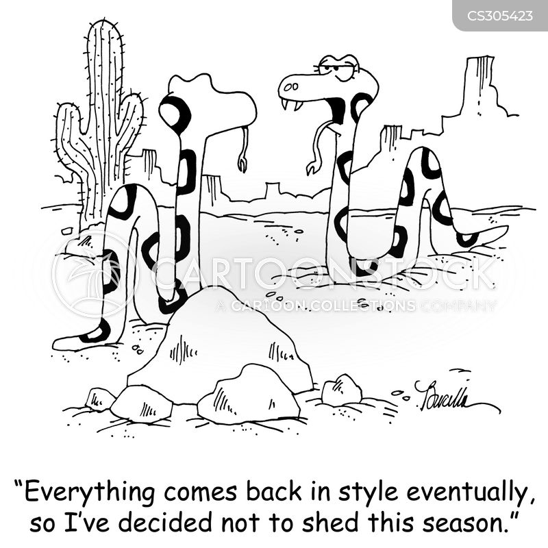 everything comes back in style cartoon