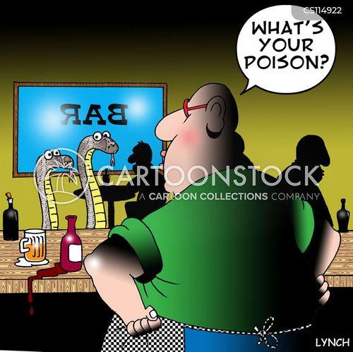 poisonous snake cartoon