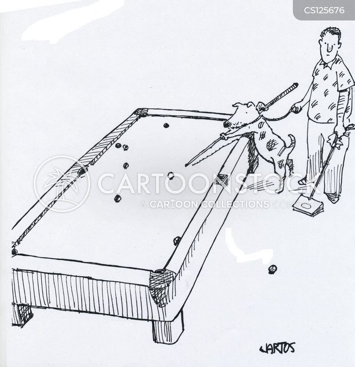 snooker games cartoon