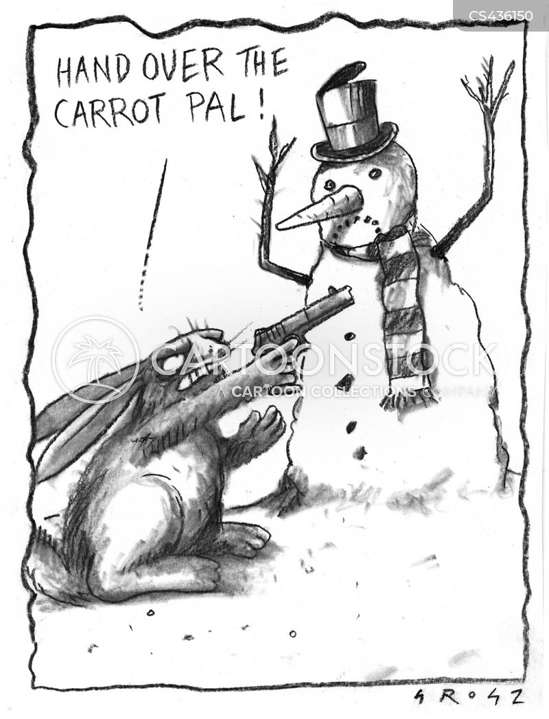 carrot noses cartoon