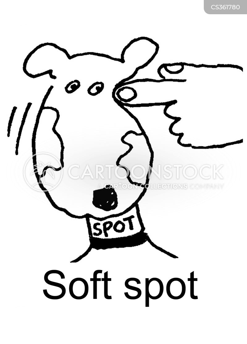 Soft Spot cartoons, Soft Spot cartoon, funny, Soft Spot picture, Soft Spot pictures, Soft Spot image, Soft Spot images, Soft Spot illustration, Soft Spot illustrations