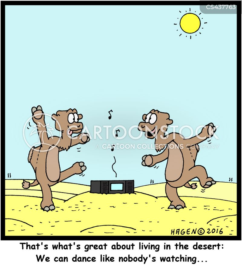 dance floor cartoon
