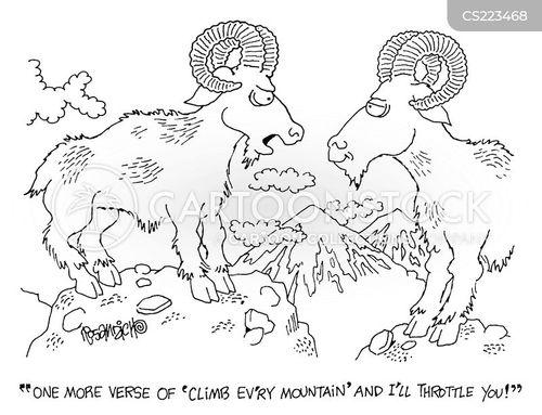 mountians cartoon
