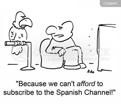 spanish channel cartoon