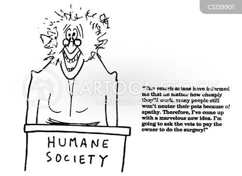humane society cartoon