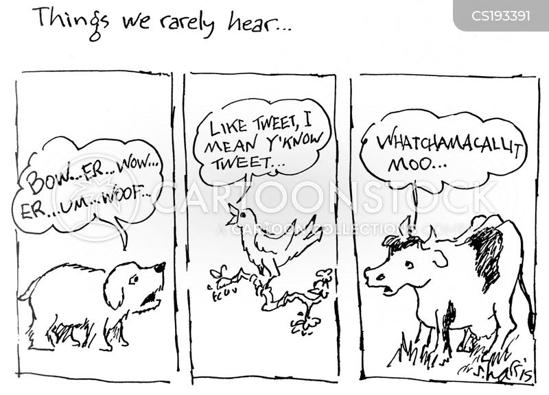 animal noise cartoon