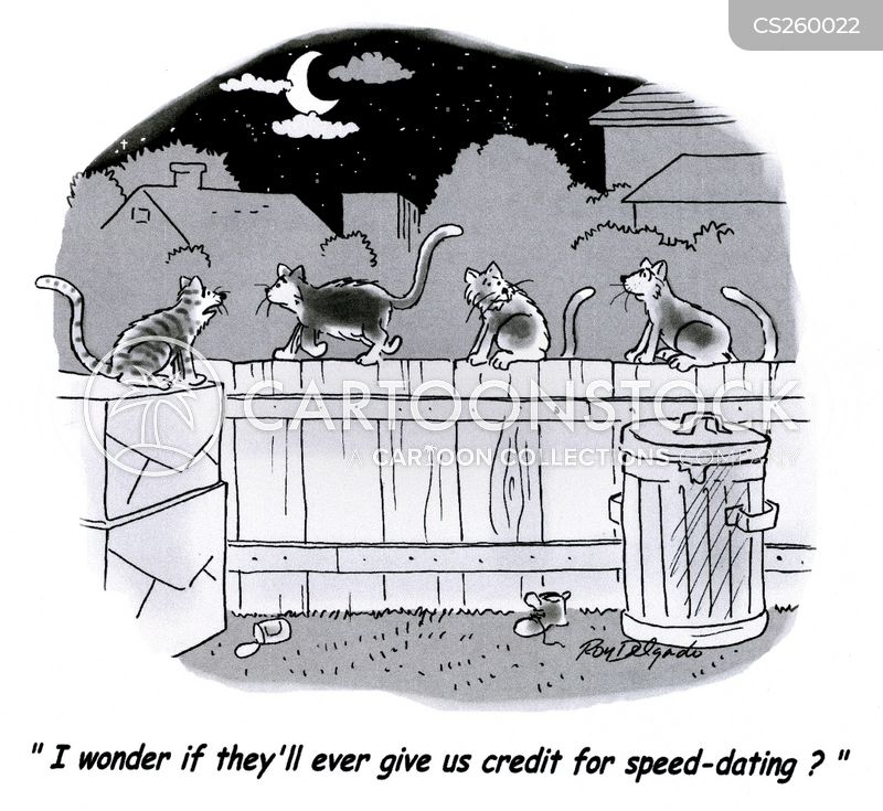 speed-dating cartoon