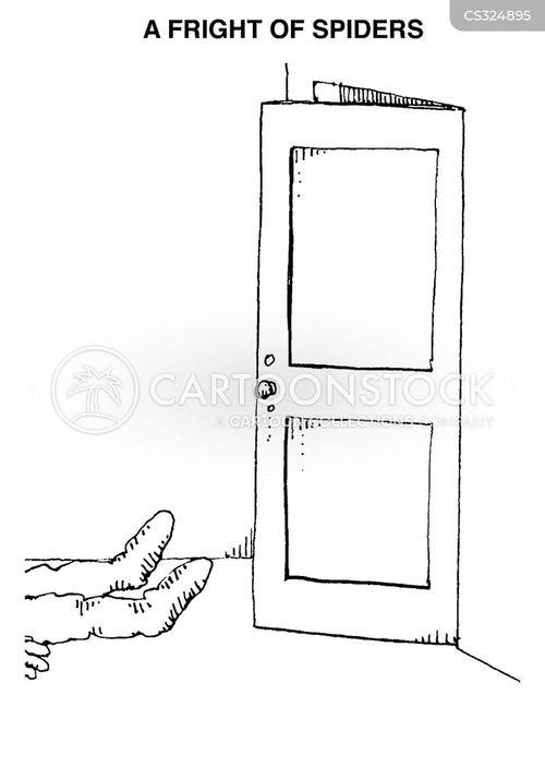 arachnaphobics cartoon
