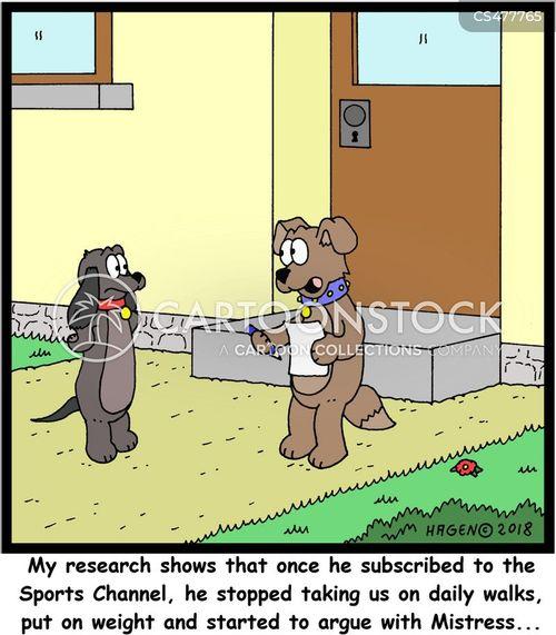television subscription cartoon