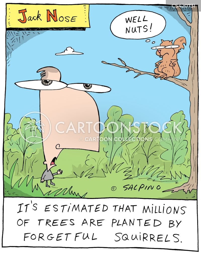 nature fact cartoon
