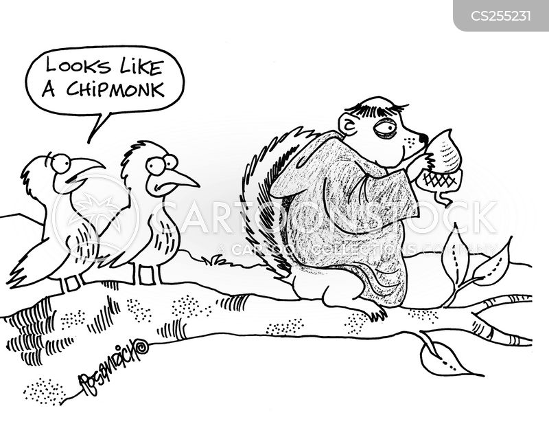Chipmunk Cartoons and Comics - funny pictures from CartoonStock