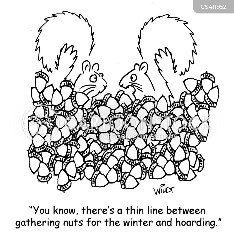 winter food cartoon