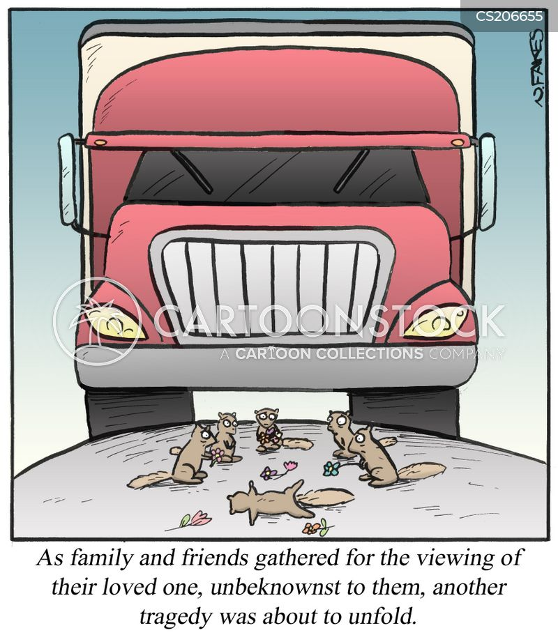 roadkills cartoon