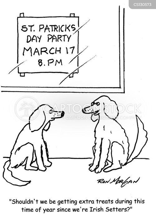 saint patricks day cartoon