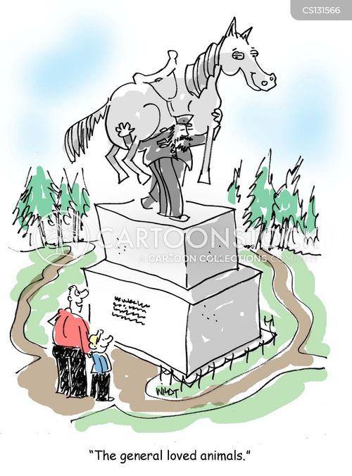war horse cartoon
