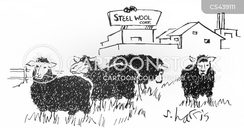 sheep farm cartoon