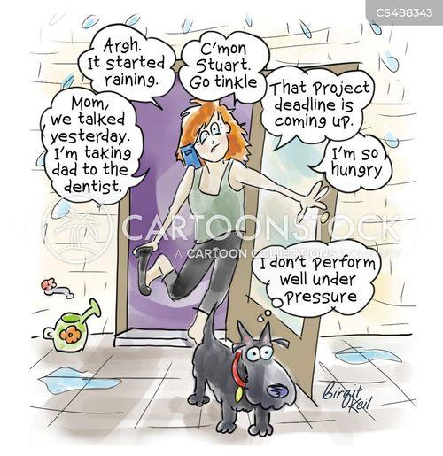 project deadlines cartoon