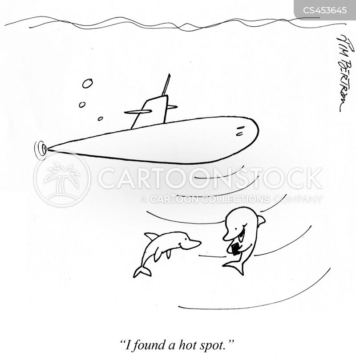 submarines cartoon