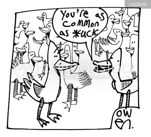 common as muck cartoon