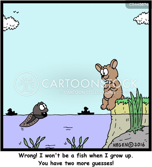 tadpole cartoon