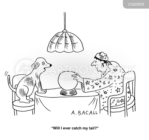 clairvoyancy cartoon