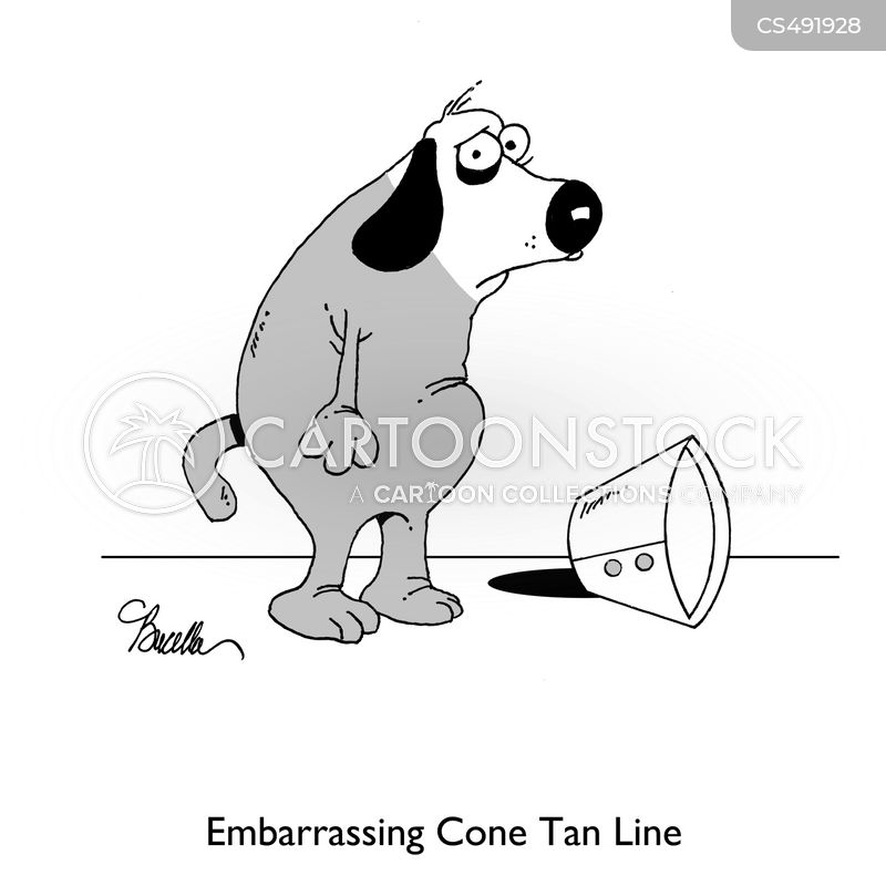 tan lines cartoon