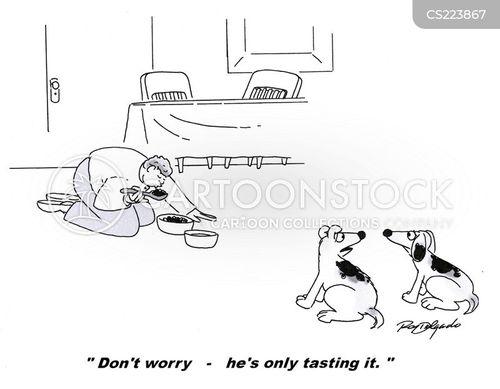 tasters cartoon