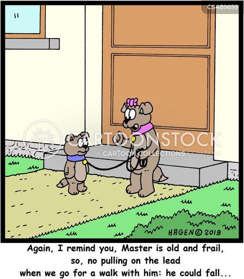 frail cartoon