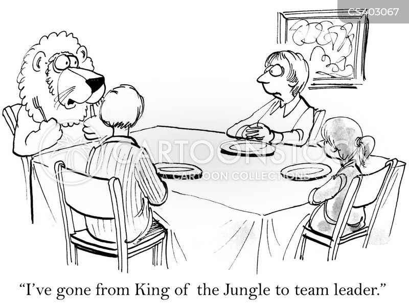 team leaders cartoon