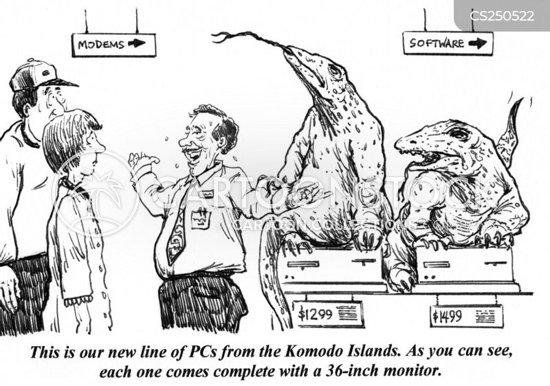 merchant cartoon