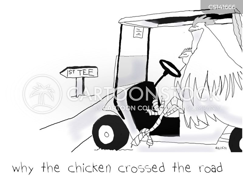 green cross code cartoon